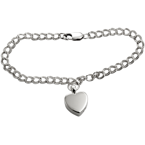 Bracelet with Heart Pendant