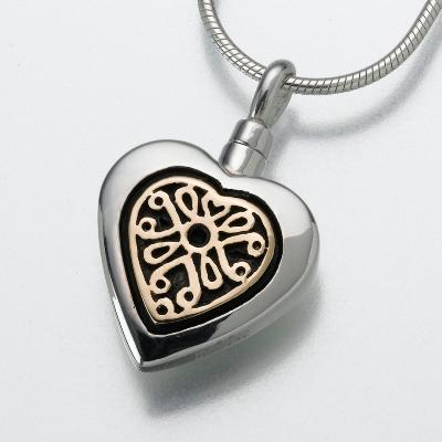 Heart Pendant with Insert